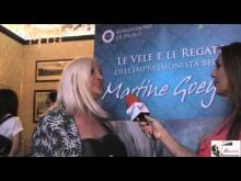 Sara Iannone (Associazione Alba del Terzo Millennio) - Mostra personale di Martine Goeyens