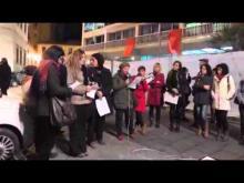 Sciopero delle donne, manifestazione di Catanzaro