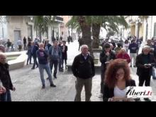 Sentinelle in piedi a Lamezia Terme (CZ) 30/11/14