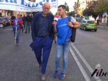 Intervista a Sergio D'Elia (Nessuno Tocchi Caino) - X Marcia internazionale per la Libertà