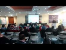 Sesto Congresso Cgil Catanzaro Lamezia 2014 secondo e ultimo giorno