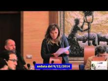 Seduta del Consiglio Municipale Roma VII del 9/12/2014 PARTE 1 di 3