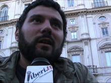"""Simone Sapienza - """"A subito"""": piazza Navona saluta Marco Pannella"""