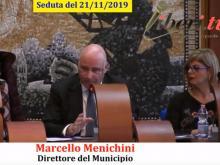 Marcello Menichini - Seduta del Consiglio Municipale Roma VII del 21/11/2019