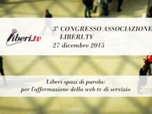 Apertura dei lavori: Riccardo Cristiano, Presidente Liberi.tv e Marco Marchese, Speaker Congresso (1/9) - III Congresso Liberi.tv 27/12/15