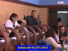 Seduta del Consiglio Municipale Roma VII del 2/07/2015 Parte 2 di 2