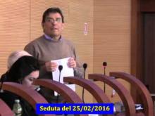 Seduta del Consiglio Municipale Roma VII del 25/02/2016 Parte 2 di 2