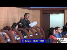 Seduta del Consiglio Municipale Roma VII del 12/05/2015