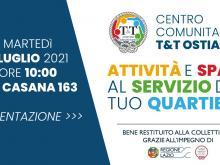 Inaugurazione del Centro Comunitario T&T a Ostia - 6 luglio 2021