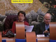Elisa Zitoli - Seduta del Consiglio Municipale Roma VII del 13/12/2019