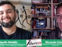 """Intervista di Riccardo Cristiano a Claudio Metallo, autore di """"Tutti sono un numero"""" 31 ottobre 2019"""