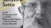 """XX Premio """"Calabria e Ambiente"""" 2017 assegnato a Salvatore Settis - Città di Soveria Mannelli (Cz)"""