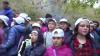 Le scuole visitano il castagneto - XII Sagra della castagna a Carpanzano